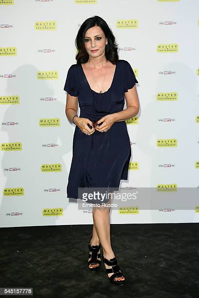 Alessia Barela attends the 'Master Of Photography' photocall at Villa Medici on July 5 2016 in Rome Italy