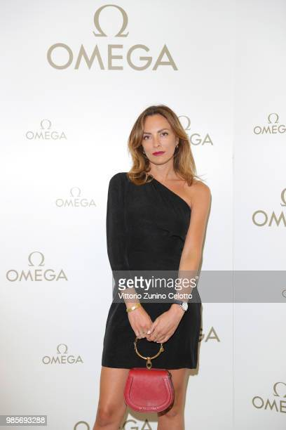 Alessia Bossi attends OMEGA Tresor Event on June 27, 2018 in Milan, Italy.