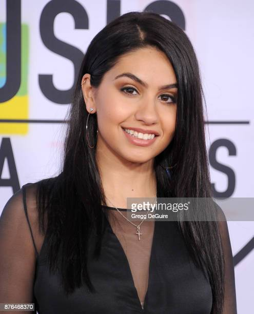 Alessia Cara arrives at the 2017 American Music Awards at Microsoft Theater on November 19 2017 in Los Angeles California
