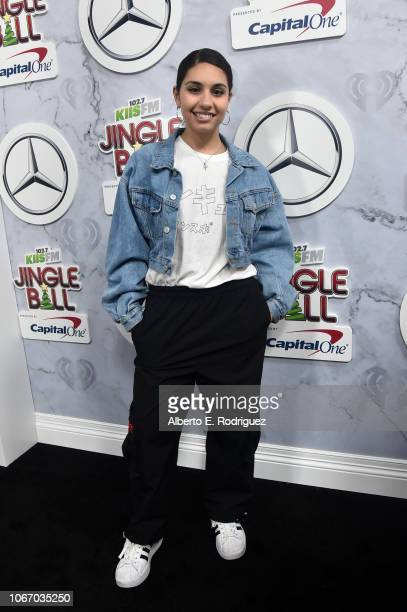 Alessia Cara attends 1027 KIIS FM's Jingle Ball 2018 Presented by Capital One at The Forum on November 30 2018 in Inglewood California