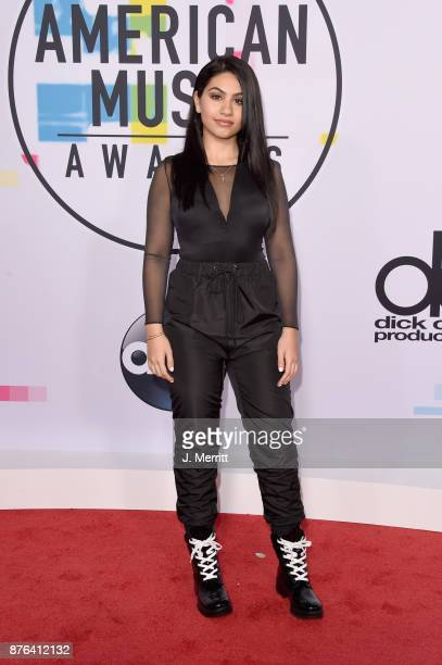 Alessia Cara attends 2017 American Music Awards at Microsoft Theater on November 19 2017 in Los Angeles California