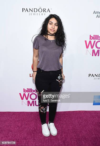 Alessia Cara attends Billboard Women In Music 2016 airing December 12th On Lifetime at Pier 36 on December 9 2016 in New York City
