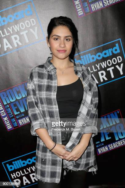 Alessia Cara attends Dick Clark's New Year's Rockin' Eve with Ryan Seacrest 2018 on December 31 2017 in Los Angeles California