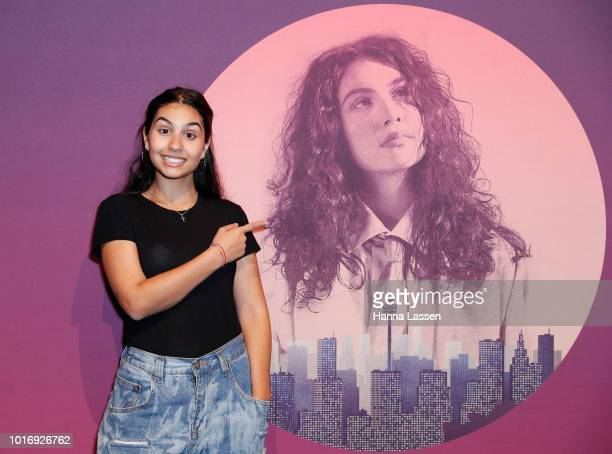 Alessia Cara attends Move In The City at Royal Hall of Industries Moore Park on August 15 2018 in Sydney Australia