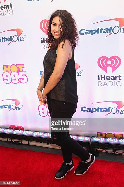 Alessia Cara attends the 2015 iHeartRadio Jingle Ball at Verizon Center on December 14 2015 in Washington DC