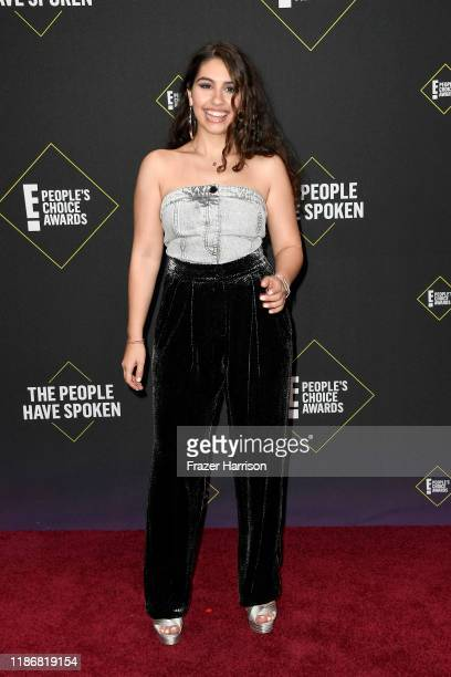 Alessia Cara attends the 2019 E People's Choice Awards at Barker Hangar on November 10 2019 in Santa Monica California