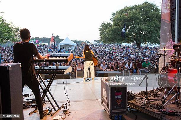 Alessia Cara performed at Zilker Park during ACL Music Festival on Saturday October 10 2015 in Austin Texas