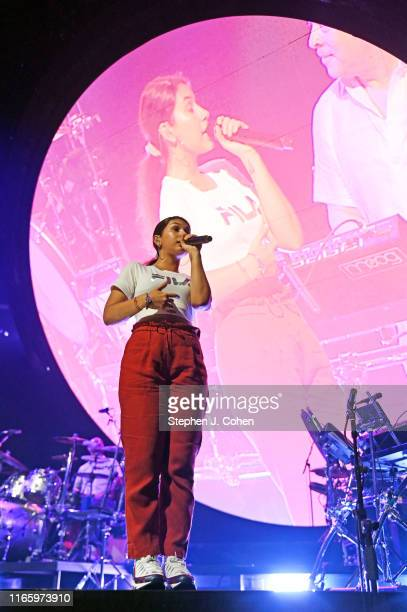 Alessia Cara performs at KFC YUM! Center on August 3, 2019 in Louisville, Kentucky.