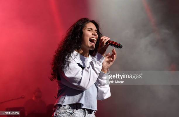 Alessia Cara performs at Northwell Health at Jones Beach Theater on June 15 2018 in Wantagh New York