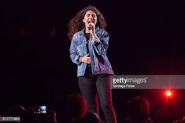 Alessia Cara performs onstage at Radio City Music Hall on October 4 2016 in New York City