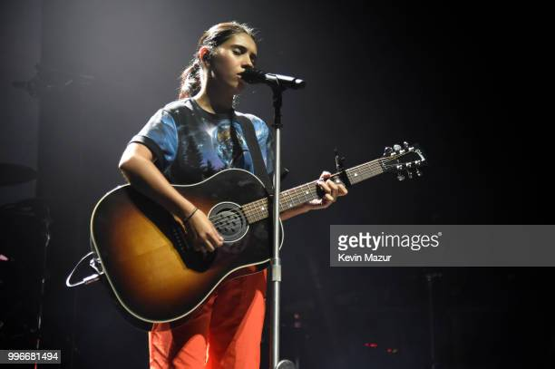 Alessia Cara performs onstage at the Amazon Music Unboxing Prime Day event on July 11 2018 in Brooklyn New York