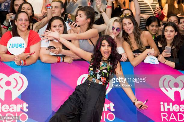 Alessia Cara walks the red carpet at the 2017 iHeartRadio Much Music Video Awards in Toronto