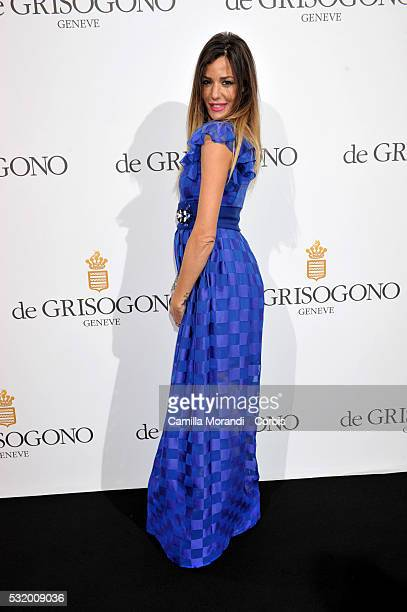 Alessia Fabiani a attends the De Grisogono Party at the 69th annual Cannes Film Festival at Hotel du CapEdenRoc on May 157 2016 in Cap d'Antibes...