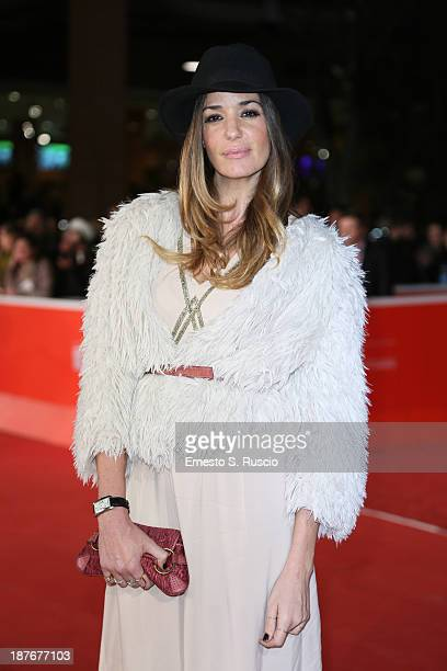 Alessia Fabiani attends 'Romeo And Juliet' Premiere during The 8th Rome Film Festival at Auditorium Parco Della Musica on November 11 2013 in Rome...