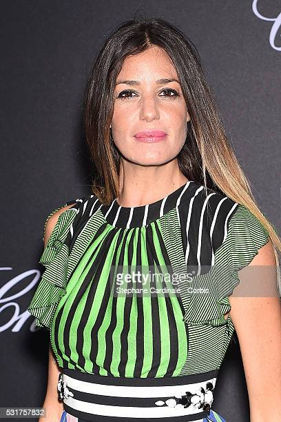 Alessia Fabiani attends the Chopard Party during the 69th annual Cannes Film Festival on May 16 2016 in Cannes France