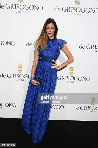 Alessia Fabiani attends the De Grisogono Party at the annual 69th Cannes Film Festival at Hotel du CapEdenRoc on May 17 2016 in Cap d'Antibes France