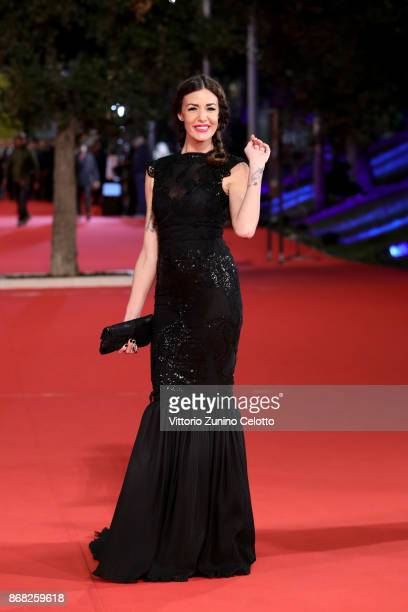 Alessia Fabiani walks a red carpet for 'Good Food' during the 12th Rome Film Fest at Auditorium Parco Della Musica on October 30 2017 in Rome Italy