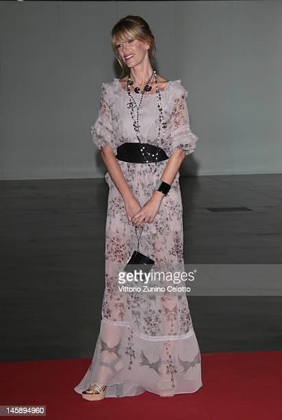 Alessia Marcuzzi attends the 2012 Convivio charity gala event on June 7 2012 in Milan Italy