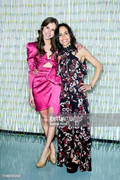 Alessia Pizzorni and Nicole Wachter Attend the Planned Parenthood Of NYC / Spring Into Action Gala 2019 at Center 415 on May 1 2019 in New York City