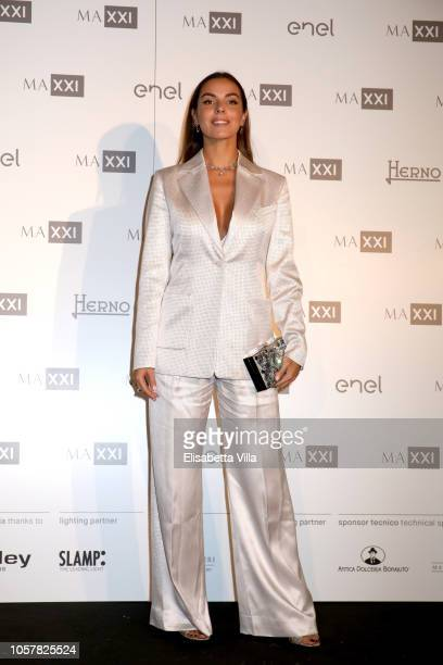Alessia Reato attends MAXXI Acquisition Gala Dinner at Maxxi Museum on November 5 2018 in Rome Italy