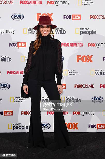 Alessia Reato attends the Fox Channels Party at Palazzo Del Ghiaccio on December 2, 2015 in Milan, Italy.