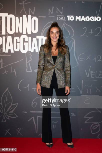 Alessia Reato attends 'Tonno Spiaggiato' photocall on May 7 2018 in Milan Italy
