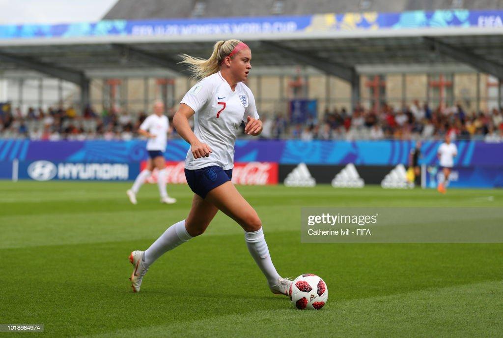 England v Netherlands: Group  - FIFA U-20 Women's  World Cup France 2018 Quarter Final : News Photo
