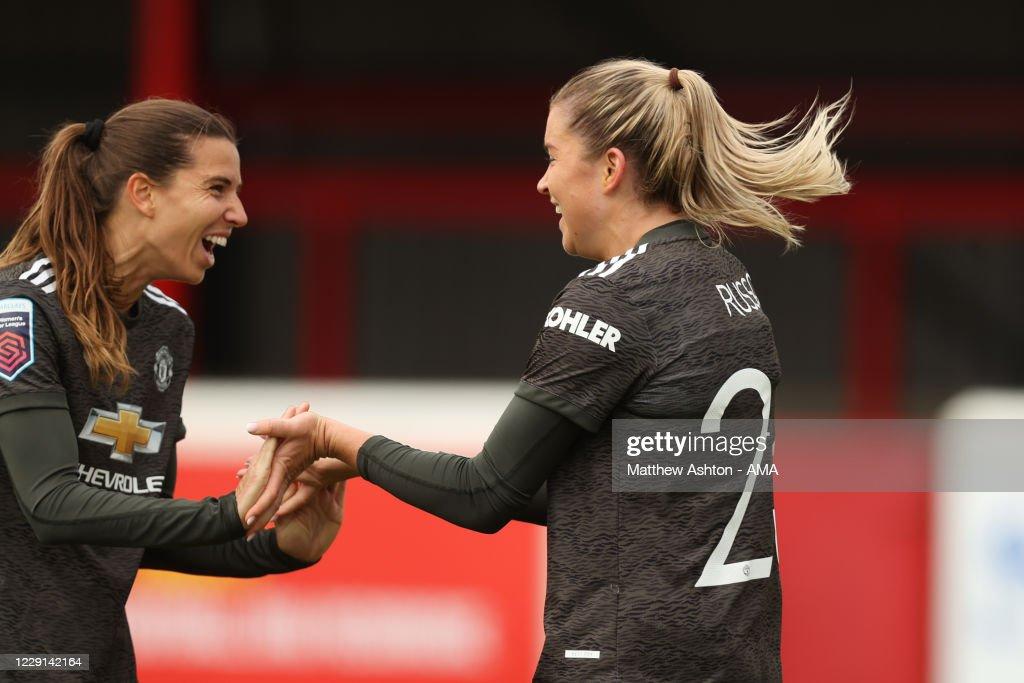 West Ham United Women v Manchester United Women - Barclays FA Women's Super League : News Photo