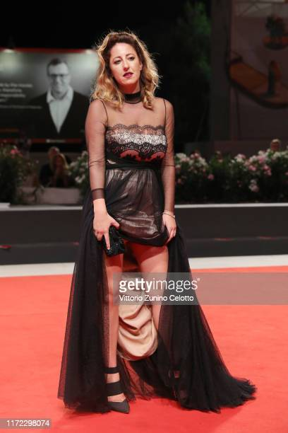 """Alessia Siena walks the red carpet ahead of the """"Mosul"""" screening during the 76th Venice Film Festival at Sala Grande on September 04, 2019 in..."""