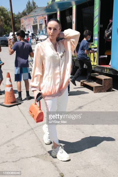 Alessia Vernazza is seen on May 23, 2021 in Los Angeles, California.
