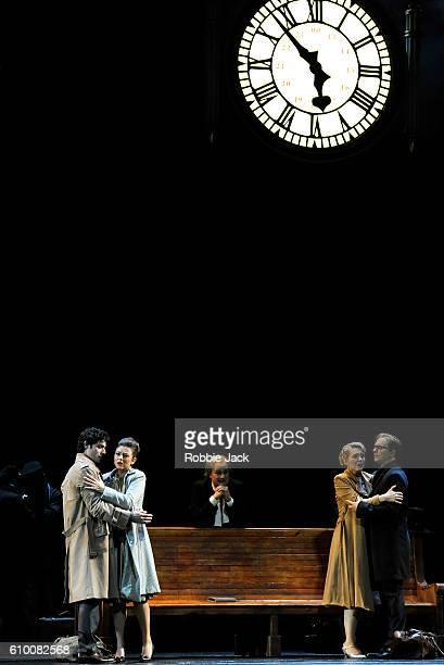 Alessio Arduini as Guglielmo, Corinne Winters as Fiordiligi, Johannes Martin Kranzle as Don Alfonso, Angela Brower as Dorabella and Daniel Behle as...