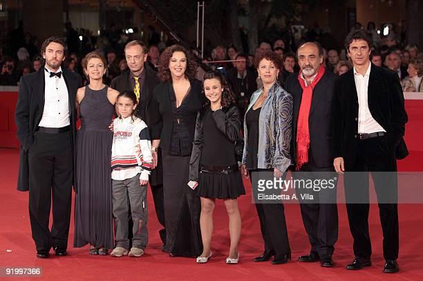 Alessio Boni Amanda Sandrelli guest Stefania Sandrelli Paola Tiziana Cruciani Alessandro Haber Blas RocaRey and family attend the 'Christine...
