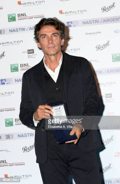 Alessio Boni attends a photocall ahead of the Nastri D'Argento nominees presentation at Maxxi Museum on May 29 2018 in Rome Italy