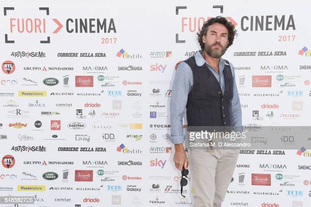 Alessio Boni attends FuoriCinema on September 17 2017 in Milan Italy