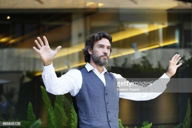 Alessio Boni attends 'La Ragazza Nella Nebbia' photocall at Hotel Visconti on October 24 2017 in Rome Italy