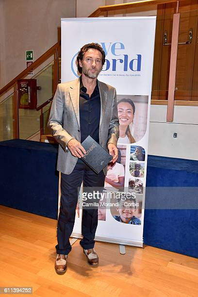 Alessio Boni attends 'Mothers L'amore che cambia il mondo' screening on September 29 2016 in Rome Italy