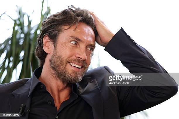 Alessio Boni attends the 67th Venice Film Festival on September 5 2010 in Venice Italy