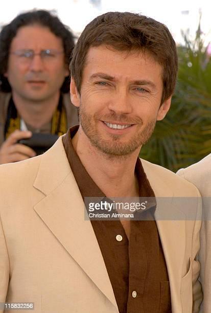 Alessio Boni during 2005 Cannes Film Festival 'Quando Sei Nato Non Puoi Piu Nasconderti' Photocall at Palais de Festival in Cannes France