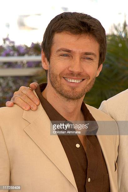 Alessio Boni during 2005 Cannes Film Festival Quando Sei Nato Non Puoi Piu Nasconderti Photocall at Palais de Festival in Cannes France