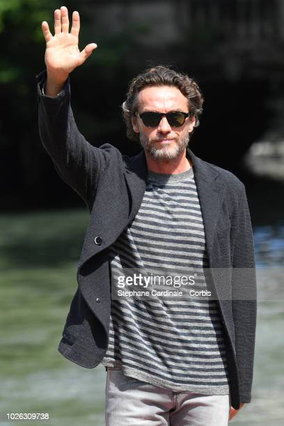 Alessio Boni is seen arriving at the 75th Venice Film Festival on September 2 2018 in Venice Italy