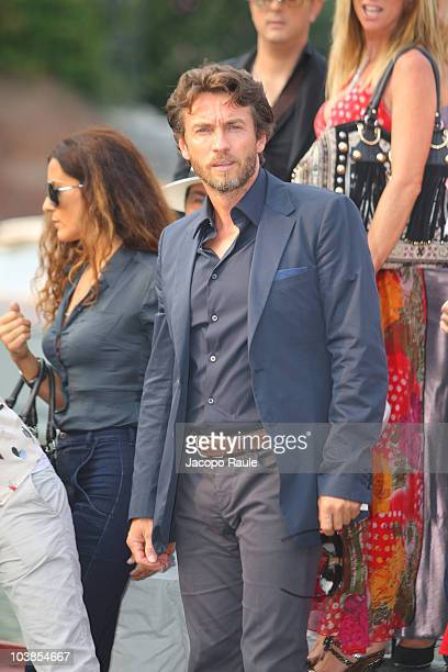 Alessio Boni is sighted at the 67th Venice Film Festival on September 5 2010 in Venice Italy