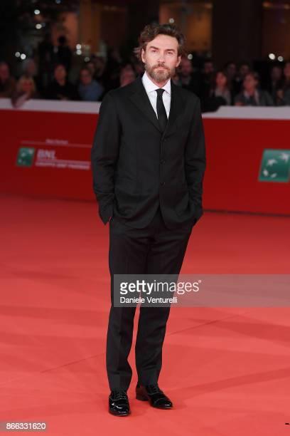 Alessio Boni walks the red carpet for 'La Ragazza Nella Nebbia' during the 12th Rome Film Fest at Auditorium Parco Della Musica on October 25 2017 in...