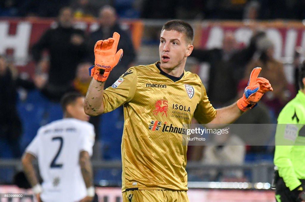 AS Roma v Cagliari Calcio - Serie A : Foto di attualità