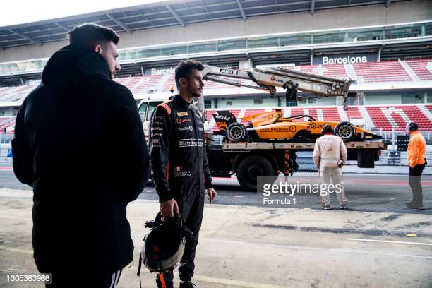 Alessio Deledda Campos Racing during the Barcelona April testing at Circuit de Barcelona-Catalunya on April 10, 2019 in Circuit de...