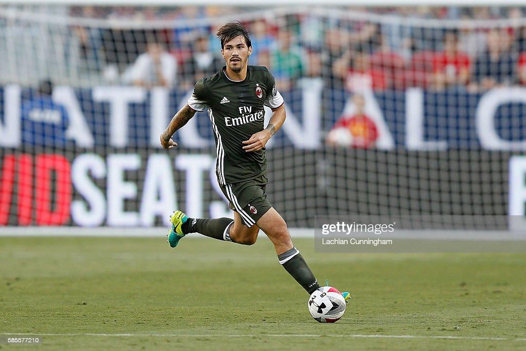 International Champions Cup 2016 - Liverpool v AC Milan : News Photo