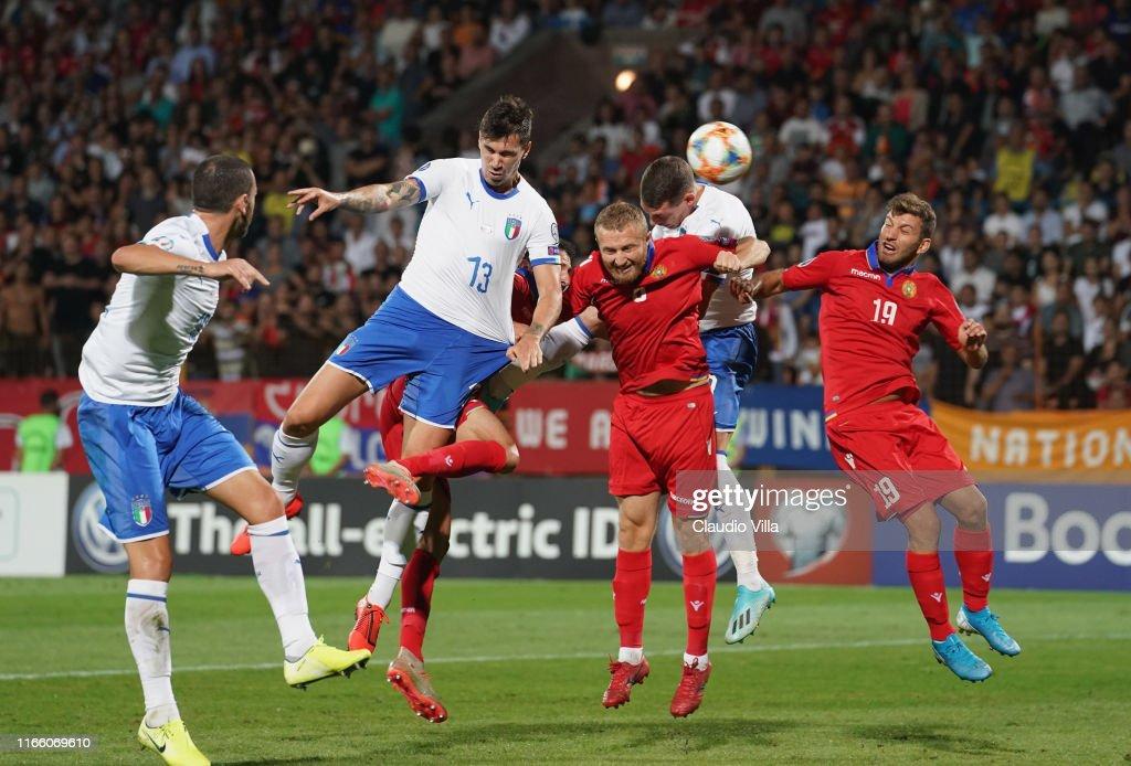 Armenia v Italy - UEFA Euro 2020 Qualifier : News Photo