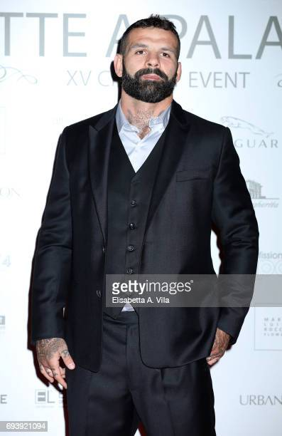 Alessio Sakara attends Anlaids Gala at Palazzo Doria Pamphilj on June 8 2017 in Rome Italy