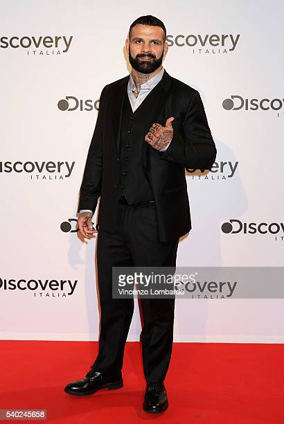 Alessio Sakara attends the Discovery Networks Upfront on June 14 2016 in Milan Italy