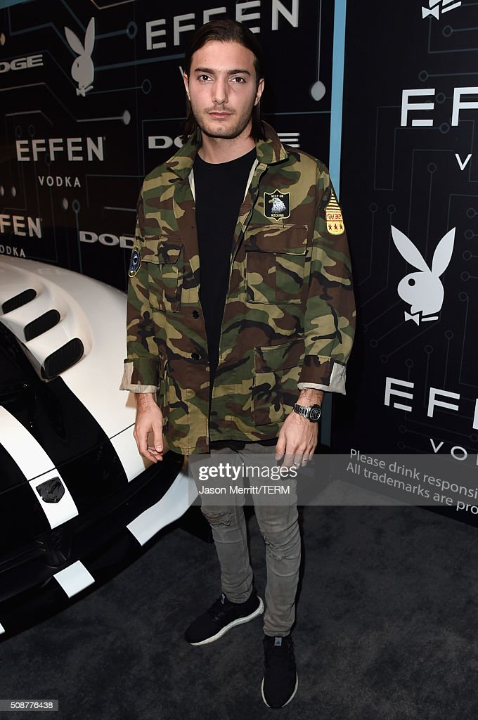DJ Alesso arrives at The Playboy Party during Super Bowl Weekend, which celebrated the future of Playboy and its newly redesigned magazine in a transformed space within Lot A of AT&T Park on February 5, 2016 in San Francisco, California.