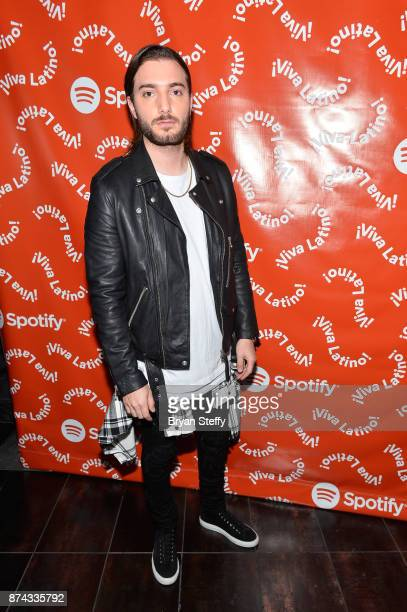 Alesso at Spotify Celebrates Latin Music and Their Viva Latino Playlist at Marquee Nightclub on November 14 2017 in Las Vegas Nevada